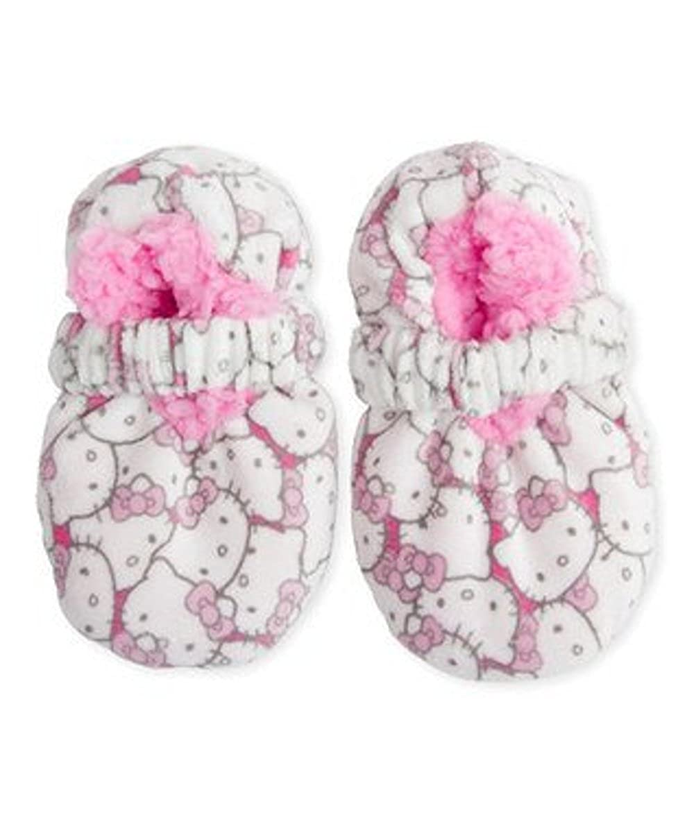 57fff6e94 Amazon.com | Hello Kitty Fuzzy Babba Girls Slippers (12/24 Months) |  Slippers