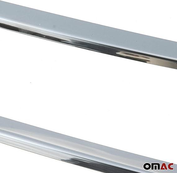 Chrom Kühlergrill Leisten Für Ducato 2014 2020 3tlg Grilleisten Frontgrill Aus Edelstahl Auto
