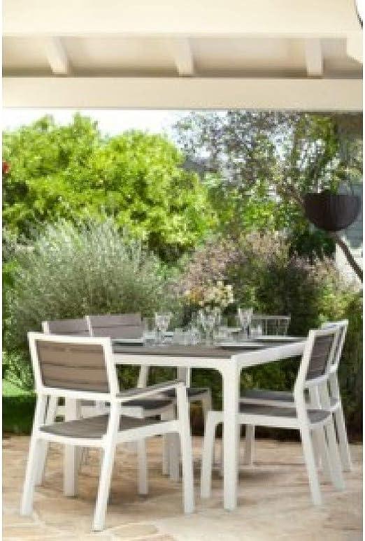 Curver m293494 - Table résine Harmony 160 x 90 cm: Amazon.fr ...