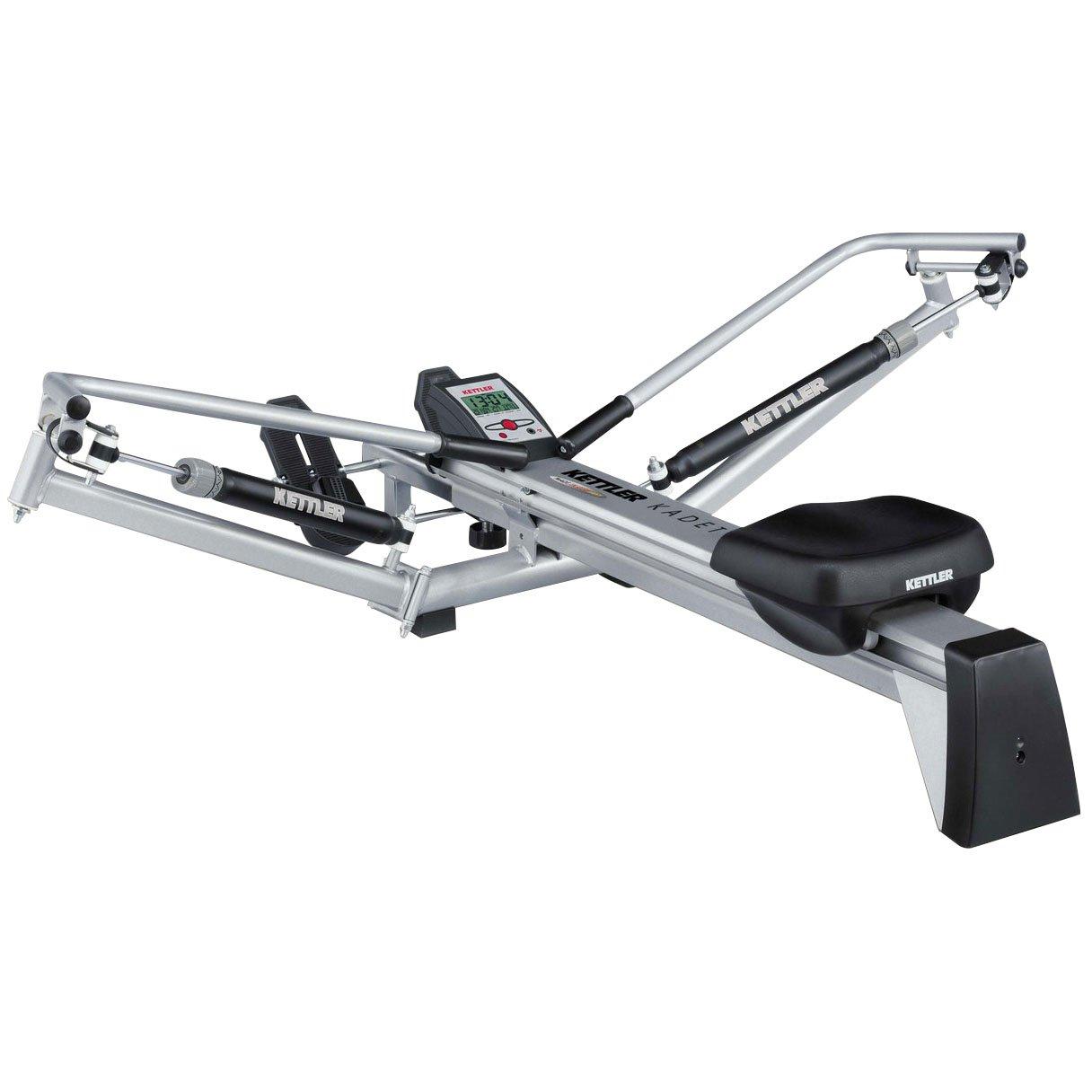 Kettler Home Exercise/Fitness Equipment: Kadett Outrigger Style Rower Rowing Machine by Kettler