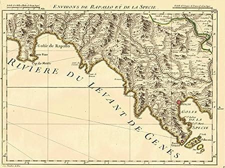 Ligurian Riviera Ligure Recco La Spezia Rapallo Portofino D
