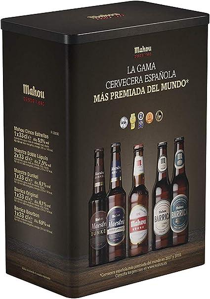 Mahou Caja con 6 cervezas premiadas: Amazon.es: Alimentación y bebidas