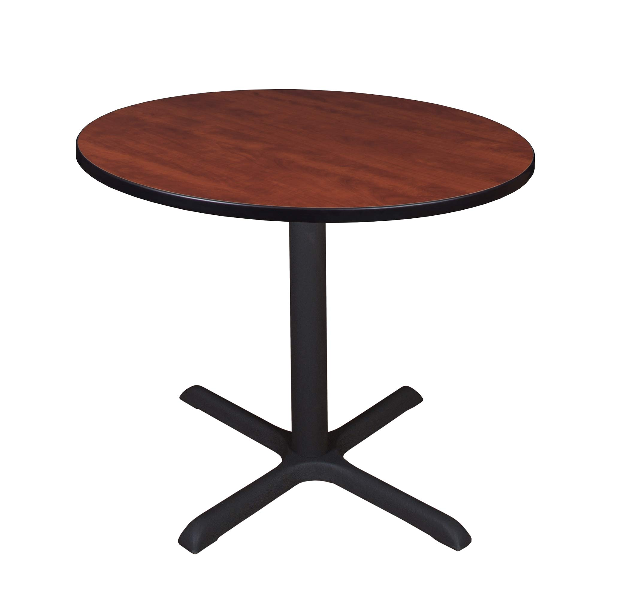 Cain 36'' Round Breakroom Table- Cherry by Regency Seating