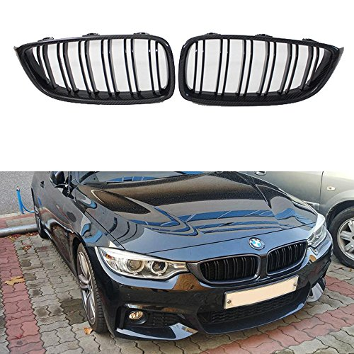 Carbon fiber front kidney grill F32 F33 F36 F80 F82 F83 front grille for BMW 4 series M3 M4 grill (Grill Front Kidney)