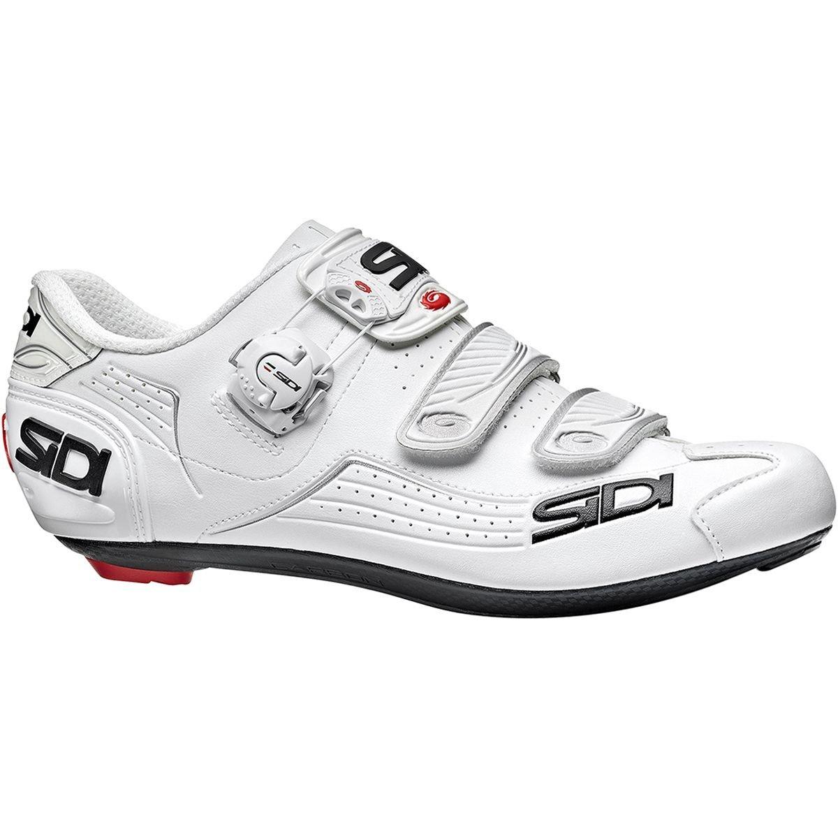 【超安い】 (シディ) Sidi Sidi Alba Carbon (43) White Cycling Shoe メンズ ロードバイクシューズWhite [並行輸入品] 日本サイズ 27.5cm (43) White B07GFB9NDC, 水海道市:56554331 --- by.specpricep.ru