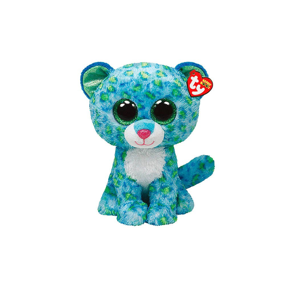 Claire's Accessories Ty Beanie Boos Plush Leona the Leopard - 6 Small by Claire's