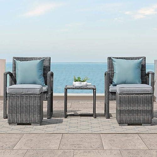Patiorama 5-Pieces Outdoor Patio Furniture Set