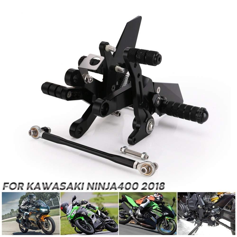 SHANGGUAN CNC para compatibilidad con Kawasaki Ninja 400 ...