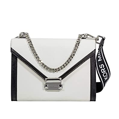 bd8200cd306 Image Unavailable. Image not available for. Color  Michael Kors Whitney  Large Leather Shoulder Bag
