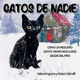 Gatos de nadie: Cómo un pequeño gatito negro nos llegó desde el frío (Spanish