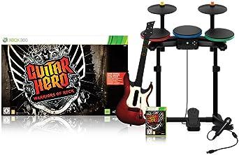 Guitar Hero 6: Warriors of Rock - Full Band Bundle (Xbox 360 ...