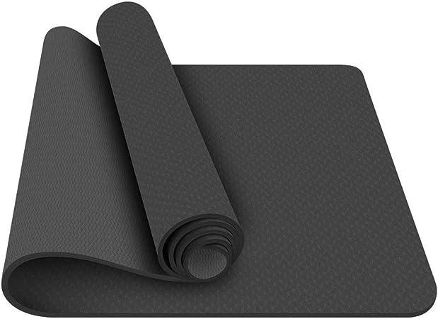 Amazon.com : FANFF Yoga mats Yoga Mat Anti-Skid TPE Yoga ...