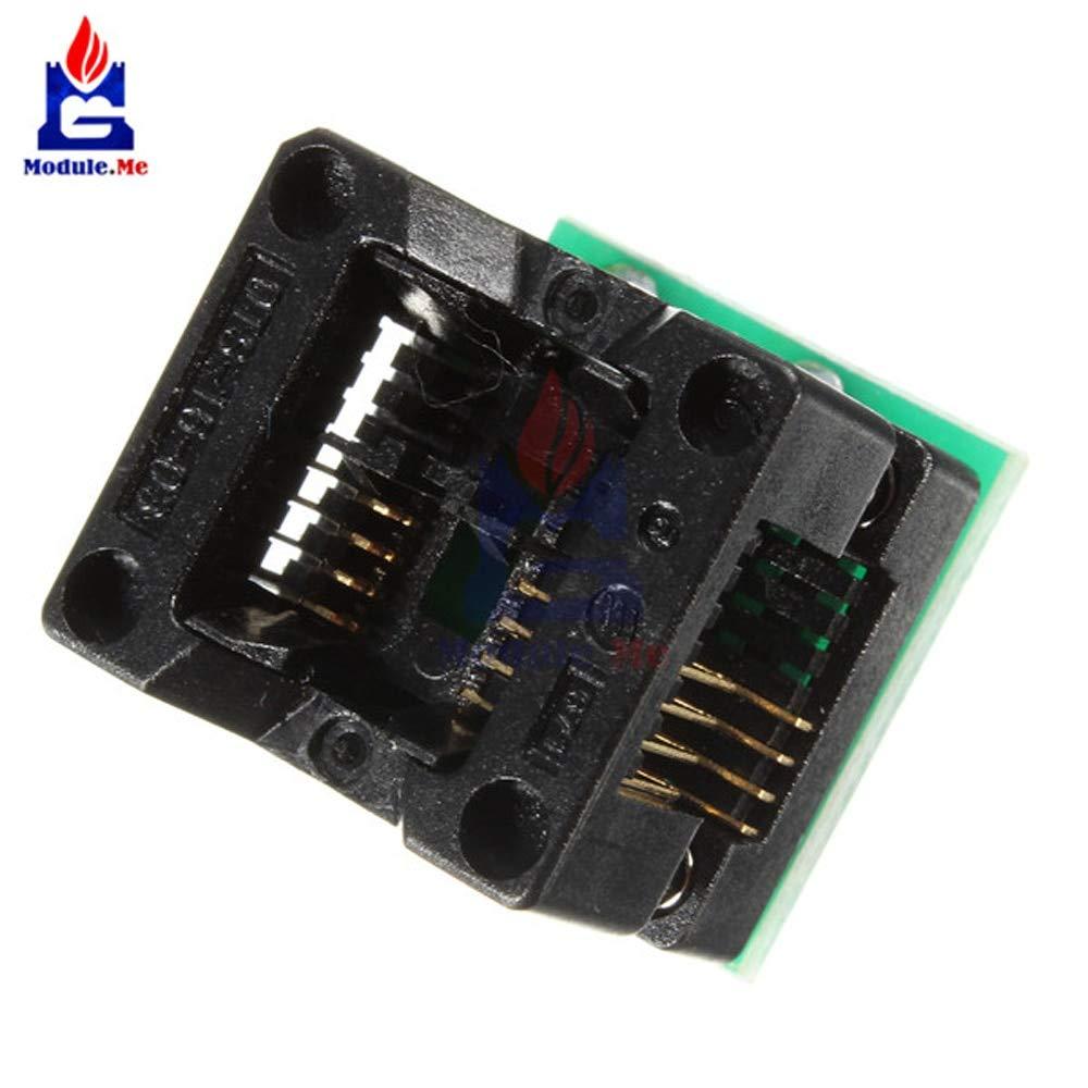 SOIC8 SOP8 to DIP8 EZ Programmer Adapter Socket Converter module wide150mil