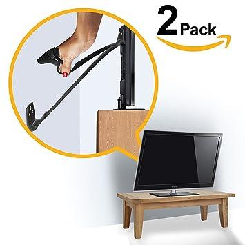 ELLAu0027S FURNITURE STRAP, Heavy Duty TV Straps, No Plastic Parts, Anti Tip  Earthquake
