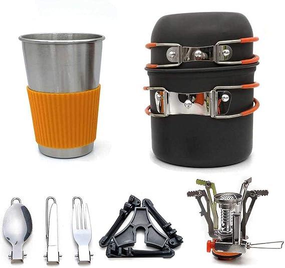 Set de utensilios de cocina para acampar portátiles Estufas ...