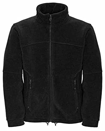 Mens Classic Fleece Jacket Coat Sizes XS to 4XL - WORK LEISURE