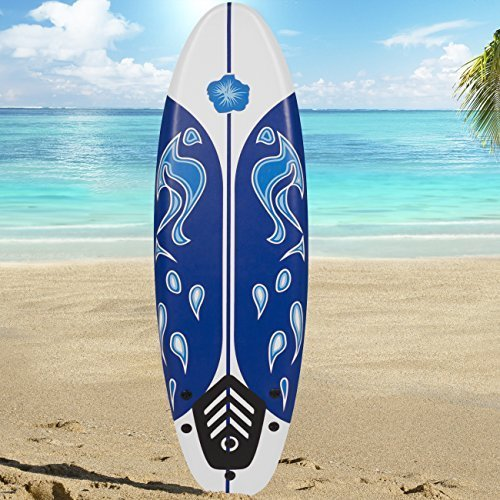 NEW Surfboard 6' Beach Ocean Body Boarding by Best Choice Products