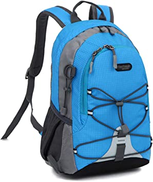Xindiqiu Mochila 10 litros Impermeable Paquete de Camping para Deportes al Aire Libre Mochila de Escalada Montañismo Mochila de Trekking para Niños ...