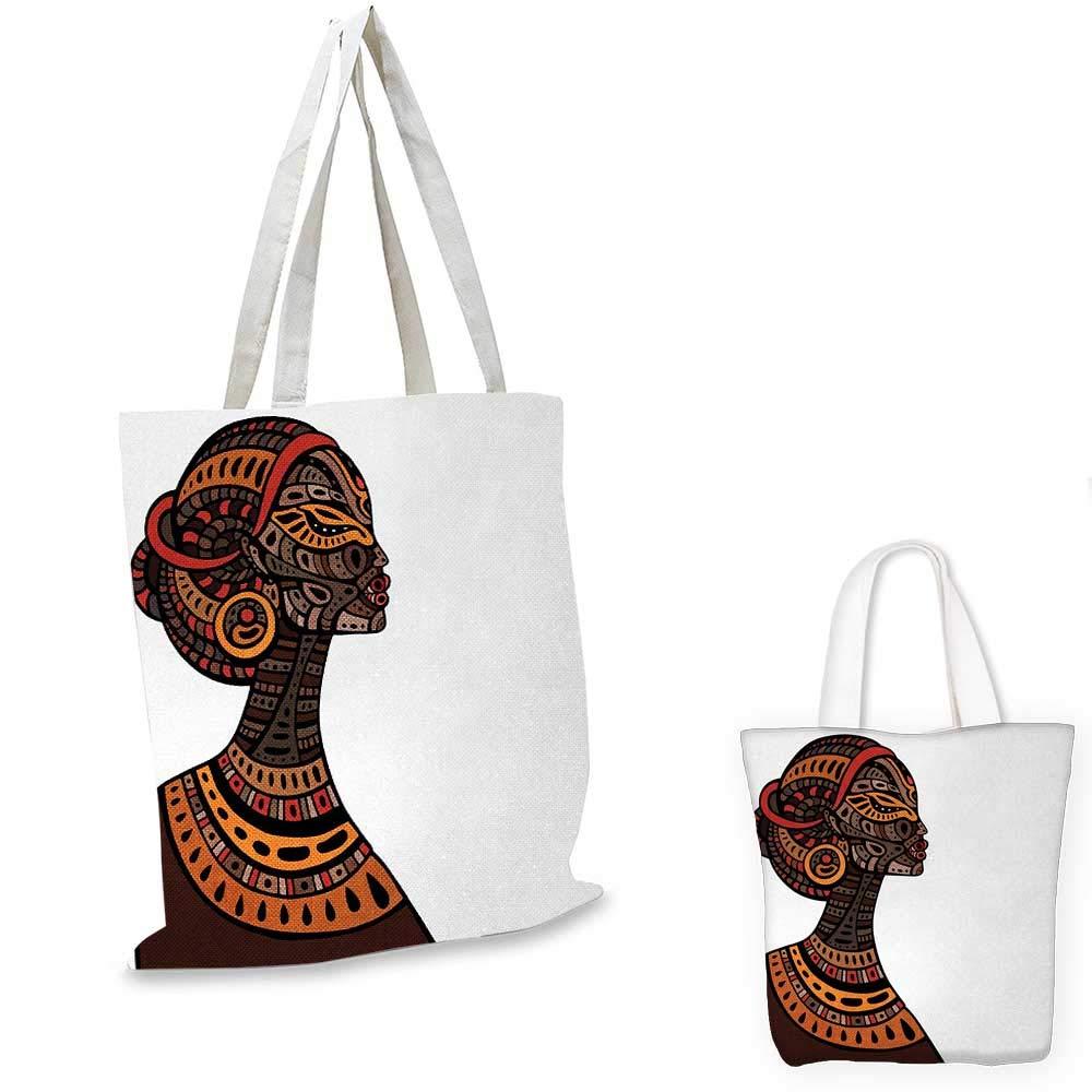 アフリカの女性のアフリカの肖像画 エスニックドレス ズール風 トライバルグラフィックプリントスカーレット傘。 15
