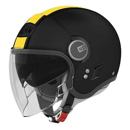 e765e17e Image Unavailable. Image not available for. Color: Nolan N21 VISOR JOIE DE  VIVRE Black Helmet size X-Small