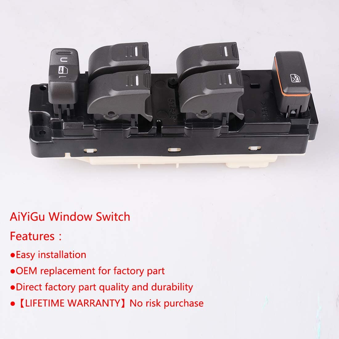 2004-2012 GMC Canyon 2009-2010 Hummer H3T 25779767 2006-2010 Hummer H3 Power Window Switch Fits 2004-2012 Chevrolet Chevy Colorado
