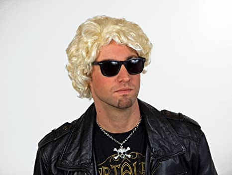 El Sr. peluca, rubia blanca