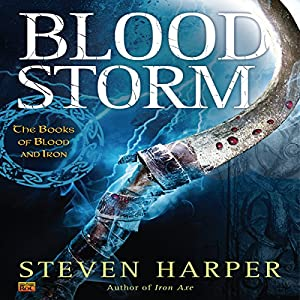 Blood Storm Audiobook