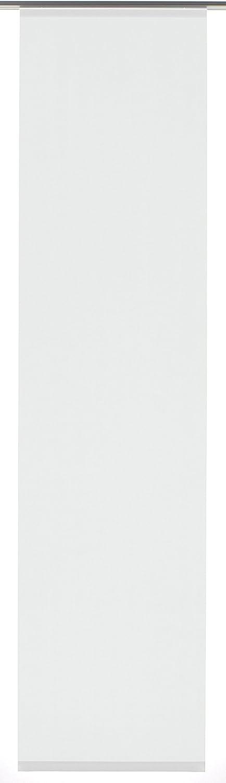 Taupe GARDINIA Panneau Japonais 1 Piece WxH Tissu Entry 60 x 245 cm Coulissant Opaque