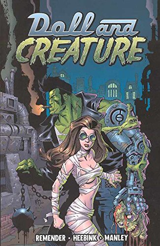 Doll And Creature Volume 1 Everything Turns Gray (v. 1) [Remender, Rick] (Tapa Blanda)