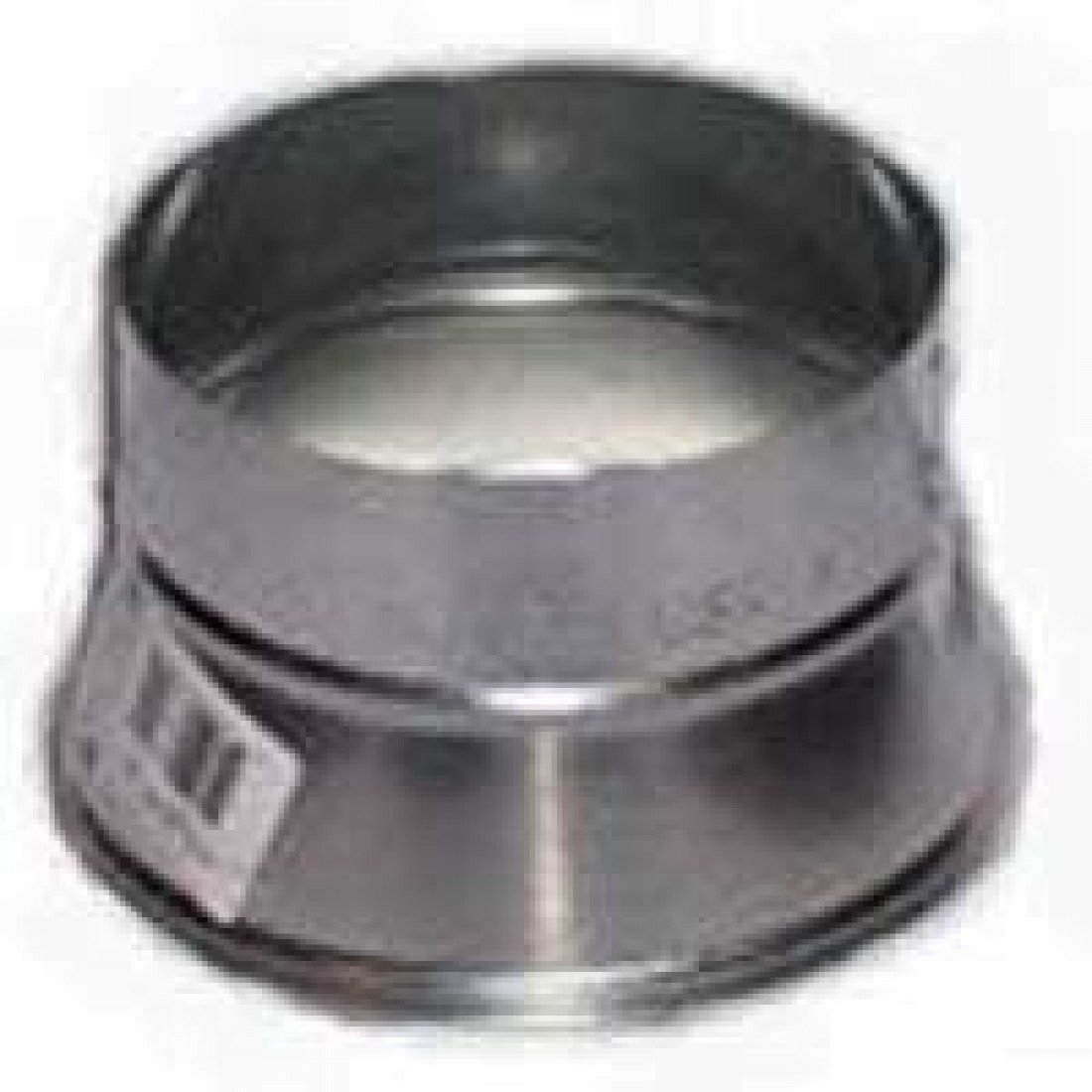 Gray Metal 8x6-311p Stove Pipe Reducer, 8