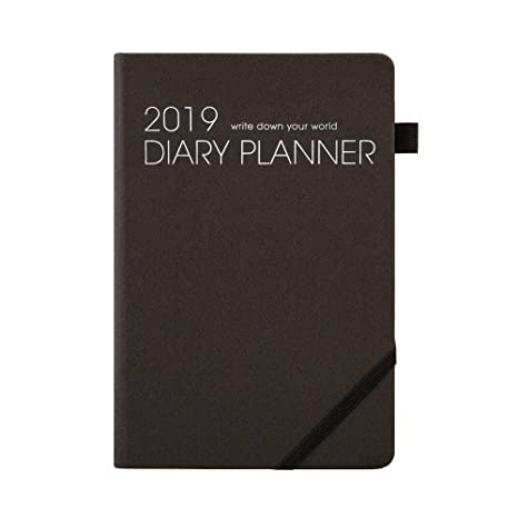 Planner 2019 Organizer with Pen Holder - Academic Weekly, Monthly Planner,Best Agenda & Shopping List to Achieve Work ,Life Balance,Improve ...