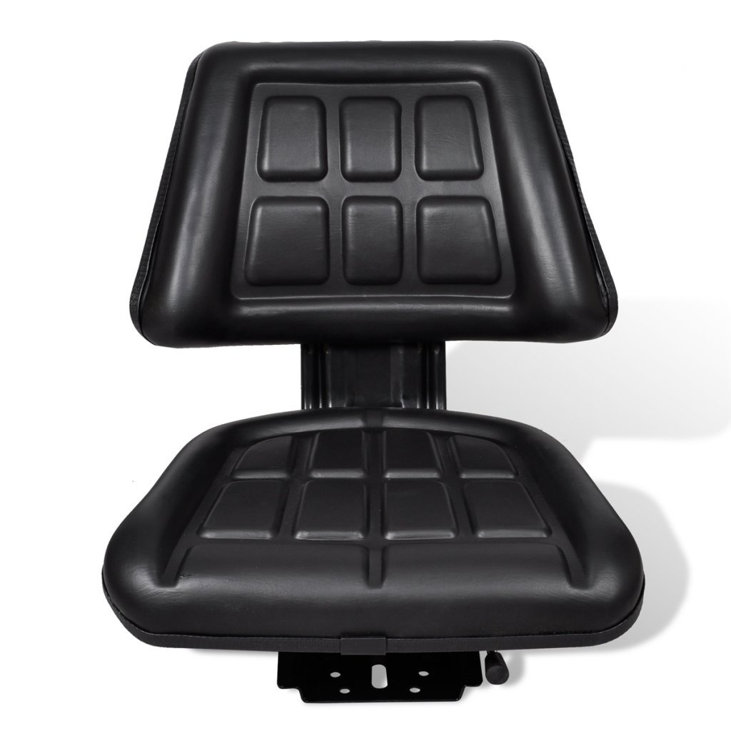 Anself Tractor Seat Backrest Adjustable Length