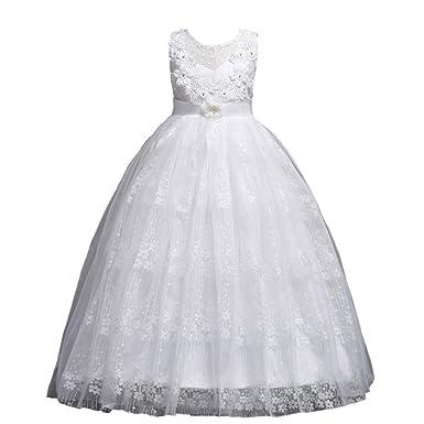 Tefamore Kleinkind Kindermädchen Hochzeit Blume Kleid Spitze ...