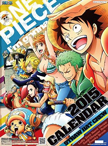 Japanese Anime Calendar 2015 ONE PIECE #K011S