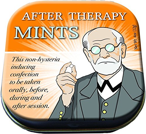 The Unemployed Philosophers Guild Freud's After Therapy Mints - 1 Tin of Mints