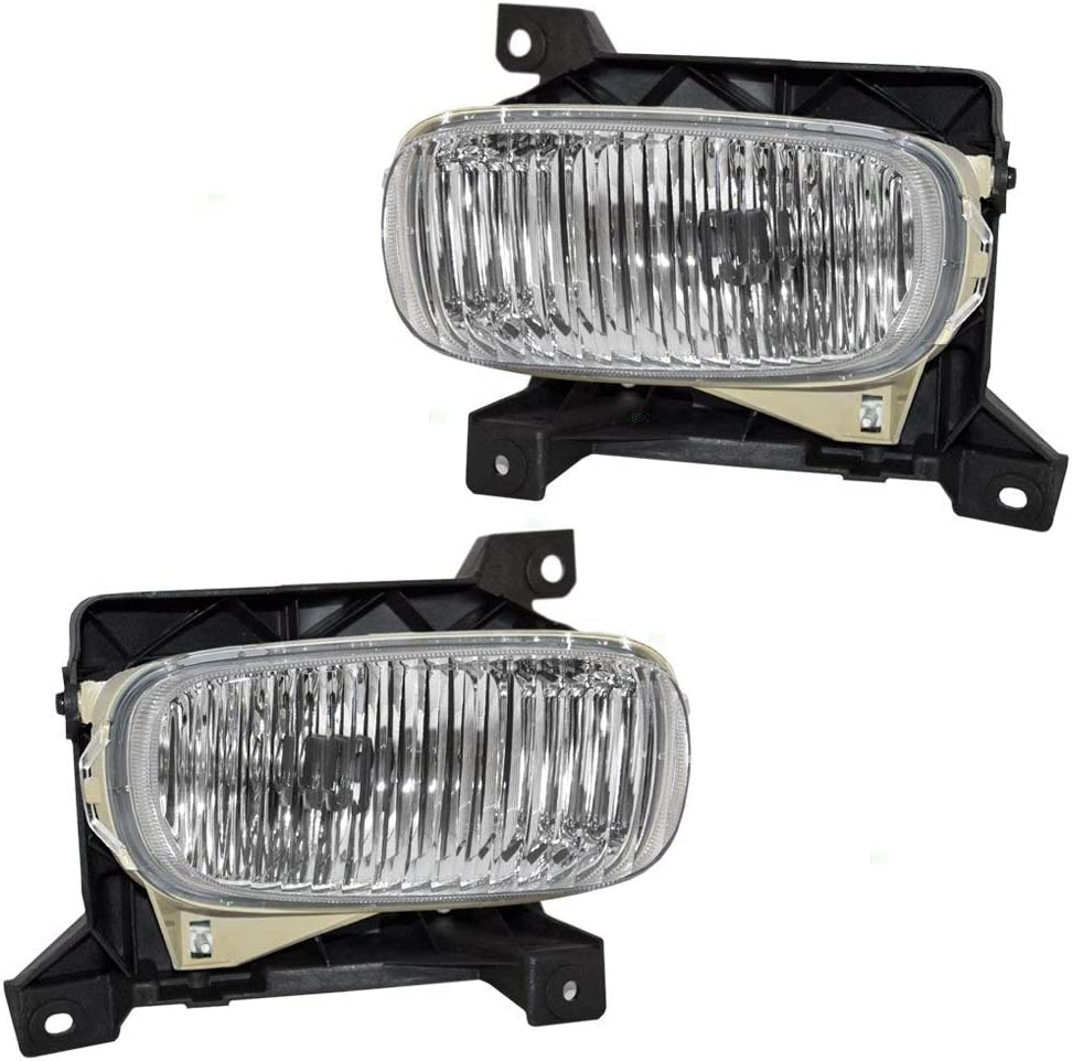 2005 tundra lights wiring diagram amazon com aftermarket left and right pair fog lights for tundra  fog lights for tundra