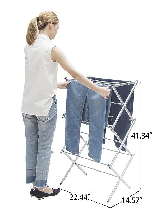 超实用,可折叠多层晾衣架
