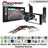 Pioneeer AVIC-6201NEX Double Din Radio Install Kit with GPS Navigation Apple CarPlay Android Auto Fits 1998-2005 Lexus GS Series
