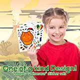24 Make A Dinosaur Stickers For Kids - Great Dino