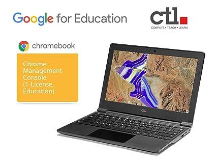 Amazon com: CTL Chromebook J41 - Bundled with Google Chrome