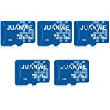 JUANWE 5 Pack 32GB Micro SD Card, Memory Card 32GB C10 TF Card High-Speed Card for Smartphone/Bluetooth Speaker/Tablet…