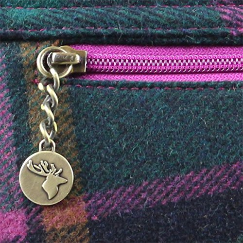 Purple Tweed Small Tweed Satchel Satchel Small Check Purple Check Tweed vn8gq48