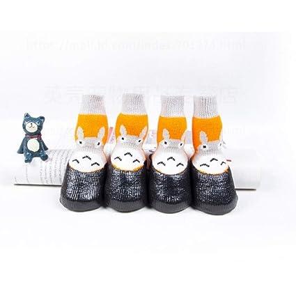 5a2bb7af79c39 Amazon.com : Haoweidaoshanghang Dog Shoes, Pet Cotton Socks, Non ...