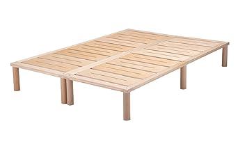 Gigapur | Estructura de Cama con somier | Cama Marco Soporta hasta 195 kg