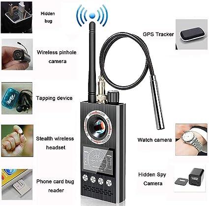 Amazon.com: Detector RF antiespía para cámara oculta ...