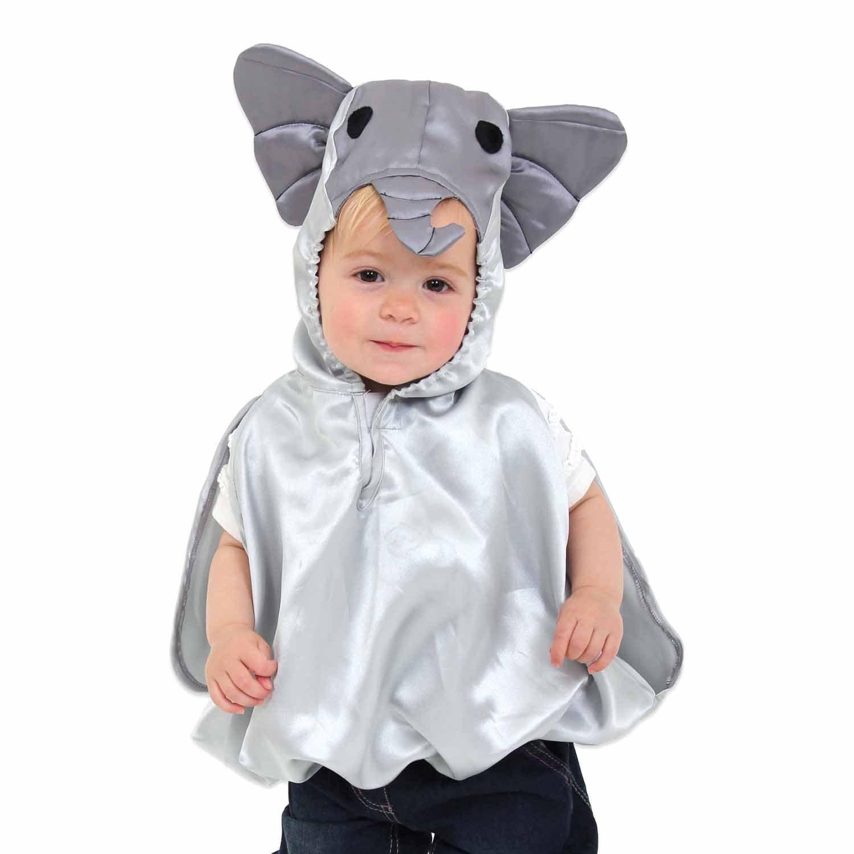 Elefanten Kostüm für Babys und Kleinkinder 0-3 Jahre alt - Kostüm Karneval - Slimy Toad CA/2663/43/00/DE