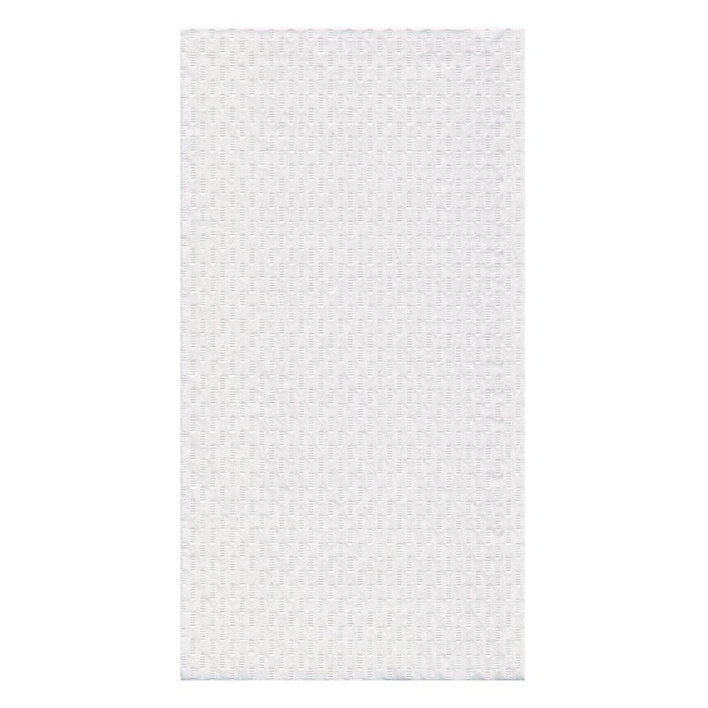 Hoffmaster 702048 Tissue Guest Towel, 2 Ply, 1/6 Fold, 17'' Length x 13'' Width, White (Case of 1000)