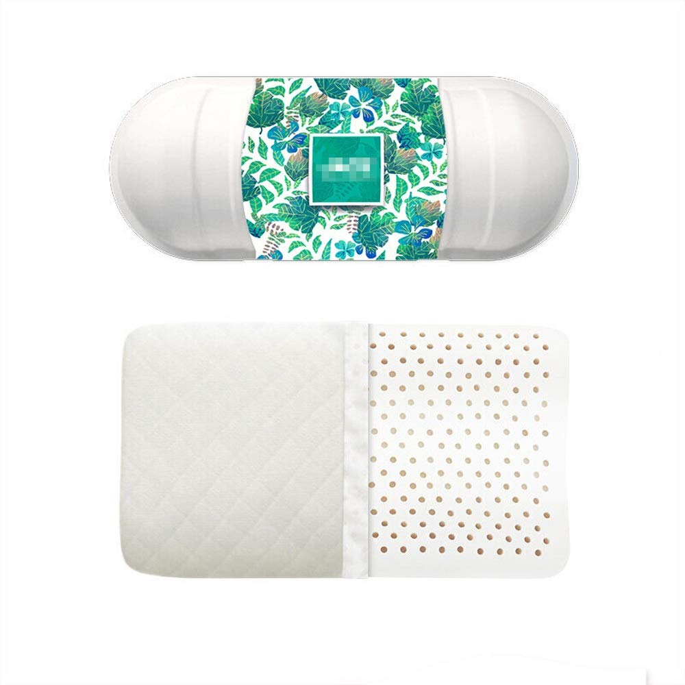 WTGG-Home Textile Latex Pillow - Thailand Imported Natural Latex Pillows Wave Pillows Gift Box /& by WYGG (Image #4)