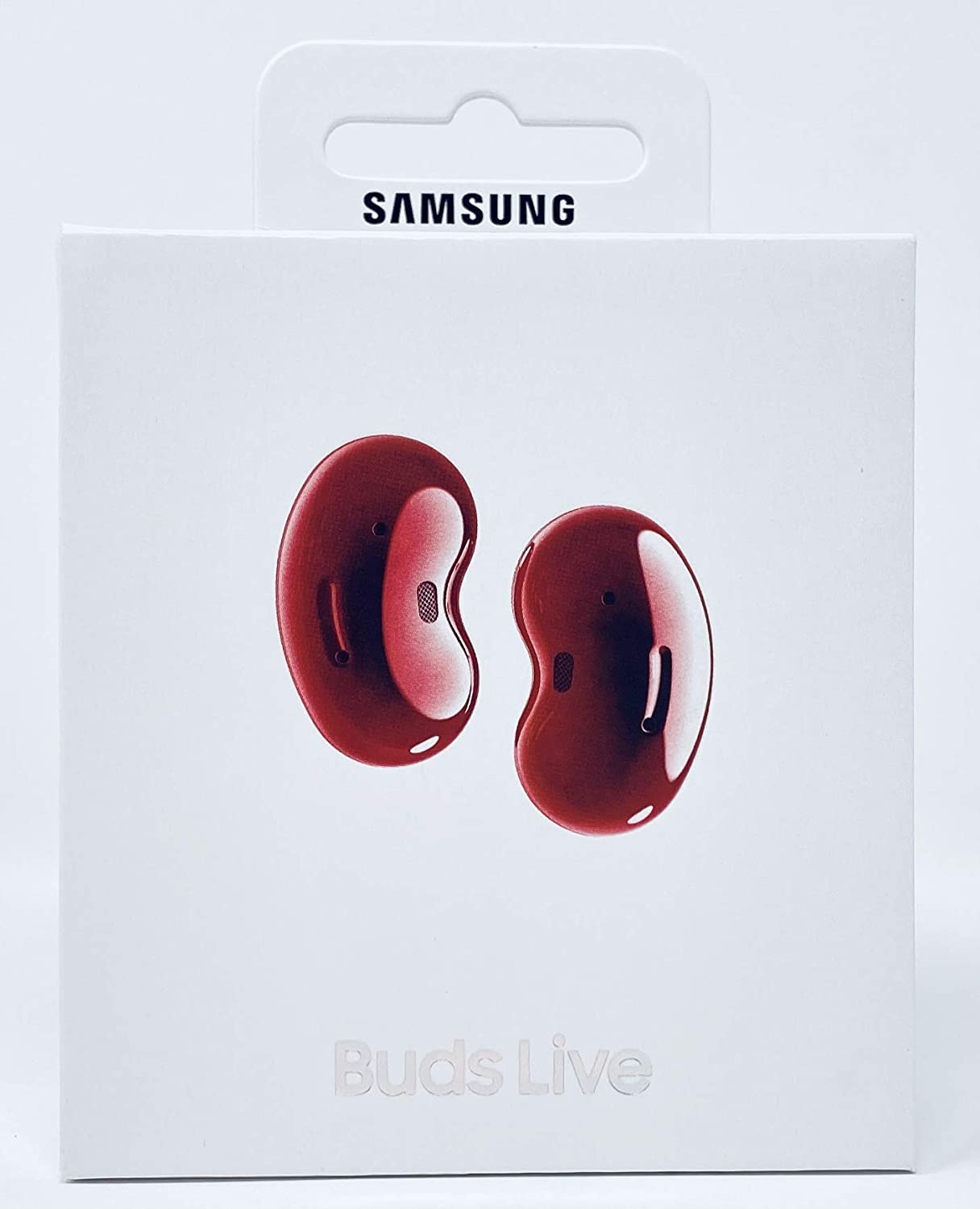Samsung Galaxy Buds Live, Wireless Earbuds w/Active Noise Cancelling (Mystic Red)
