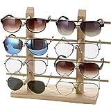 2c3cdd094d JUSTDOLIFE Soporte De Exhibición De Los Vidrios Creativo Madera Decorativa  Estante para Gafas De Sol para